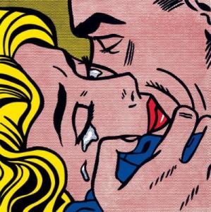 Roy-Lichtenstein-Kiss-V