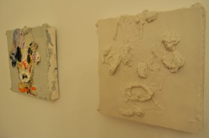 "A detail of Steiner's work with the ""original"" on the left and the ""copy"" on the right."