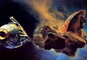 Illustration by Chris Foss.
