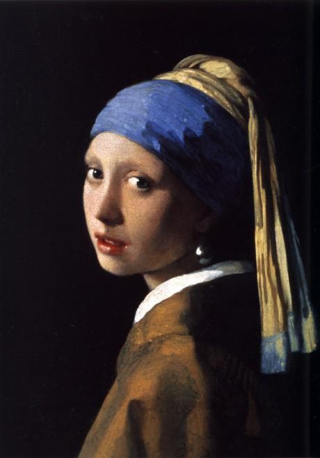 """Vermeer, """"Girl with Pearl Earring."""""""