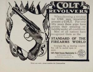 1908 Colt Advertisement.